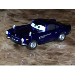 Cars 2 Bluray Exclusive Finn McMissile in Ransburg Blue Diecast Car