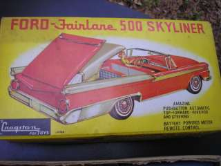 Cragston Toy Ford Fairlane 500 Skyliner Convertible Remote Control