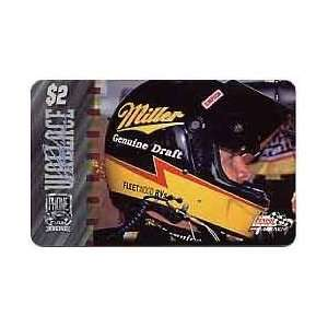 PhonePak 1996 $2. Rusty Wallace (Miller Beer, Fleetwood RV) Signature