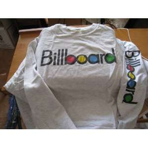 Pre Shrunk XL Cotton Long Sleeve Shirt Billboard Written