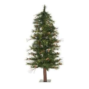 Country Pine Alpine Artificial Christmas Tree   Unlit