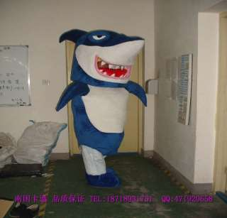 Shark Mascot Costume Outfit Suit Fancy Dress SKU 12949755669