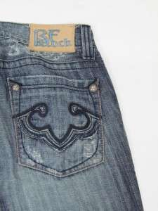 NEW EXPRESS REROCK LOS ANGELES BOOT CUT MENS JEANS, 32X30