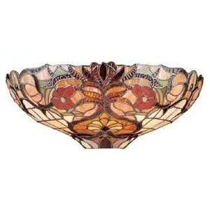Hampton Bay Tiffany Stained Glass Wall Sconce Kitchen