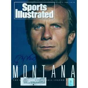 Joe Montana Signed San Francisco Sports Illustrated