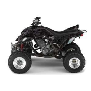 Ink AMR Racing Yamaha Raptor 660 ATV Quad Graphic Kit   Skulls and
