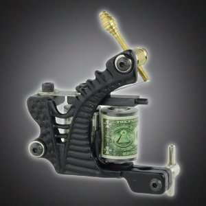 New Pro Tattoo Machine Gun Liner Shader Dual 10 wrap Coil