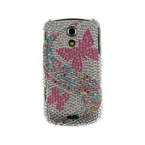 Diamond Design Phone Protector Cover Case Hot Pink