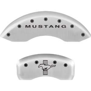 MGP Caliper Covers   Ford Mustang 2005 2010   Ford Licensed   Satin