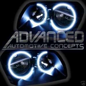 Dodge Magnum LED Rings Headlights HALO KIT Demon Eyes