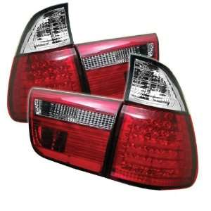 Redlines TL BE5300 LED RC Red/Clear Medium LED Tail Light for BMW E53