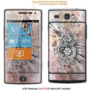 Protective Decal Skin Sticker for AT&T Samsung Focus Flash