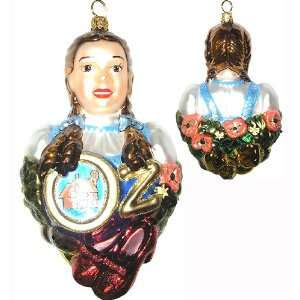 Wizard Of OZ Dorothy Polonaise Christmas Ornament #AP1753