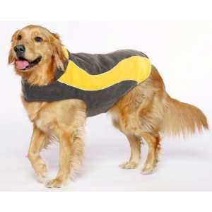 Kakadu Pet Explorer Fleece Reflective Dog Coat, 26, Sun