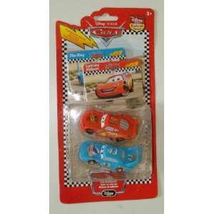 Pixar Cars Lightning Mcqueen & King Collectors Cars