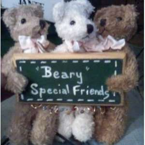 Beary Special Friends Teddy Bear Wall Plaque or Tree