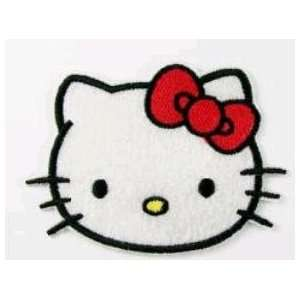 HELLO KITTY embroidery iron on patch, approx 3.5 x 2