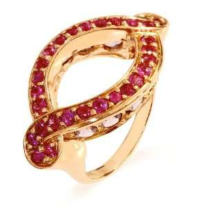 LenYa Special   Characteristic of you Valentines Day Pink Gold Plated