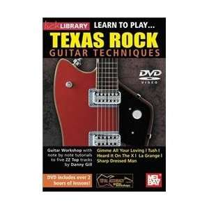 Hal Leonard Lick Library Learn to Play Texas Rock