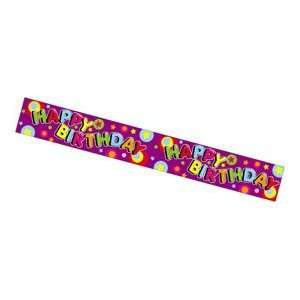 Partyrama Party Animals Happy Birthday Printed Banner Toys & Games