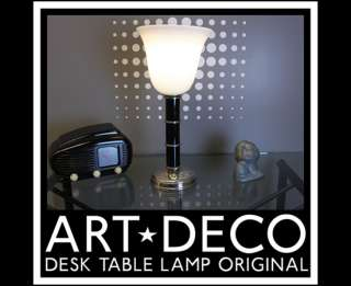 GERMAN ART DECO  MID CENTURY MODERN DESK & TABLE LAMP BUREAU LAMPE