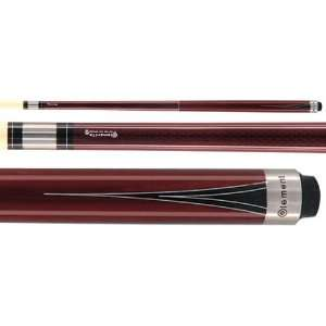 McDermott 58in Element 8 Two Piece Pool Cue  Sports