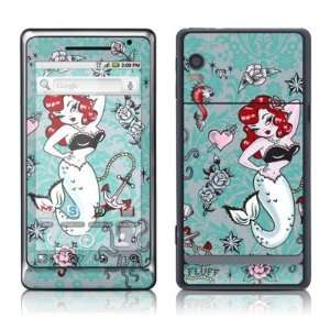 Molly Mermaid Design Protective Skin Decal Sticker for