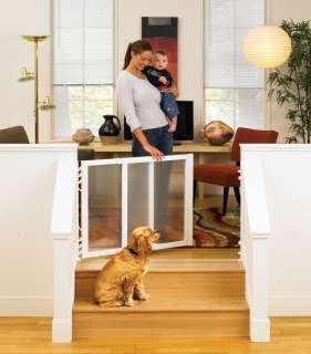 North States Supergate Clear Choice Stairway Gate Baby