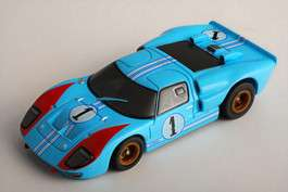 TOMY AFX RACEMASTERS GT40 #1 COLLECTOR SERIES HO SCALE SLOT CAR BNIB