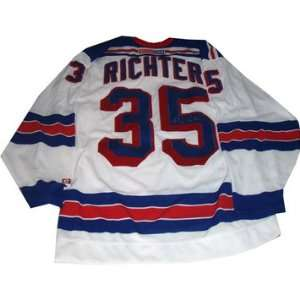 Mike Richter Autographed NY Rangers Jersey Sports