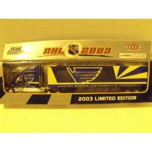 Fleer NHL 2003 180 Diecast Tractor Trailer St. Louis