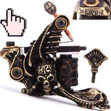 Custom Handmade Tattoo Machine Shader Gun Old School