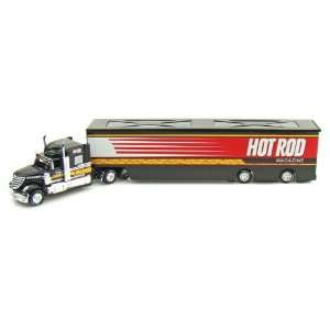 Extreme Haulers 1/64 Black Hot Rod Magazine Toys & Games