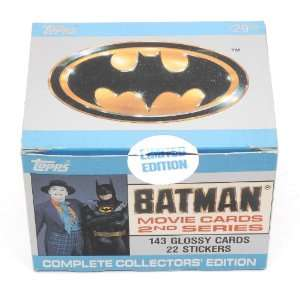 Batman Collectors Edition 2nd Series Movie Cards Topps