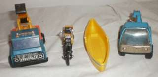 Vintage Buddy L Remco Cars Semi Motor Cycle Coca Cola & More Lot LOOK