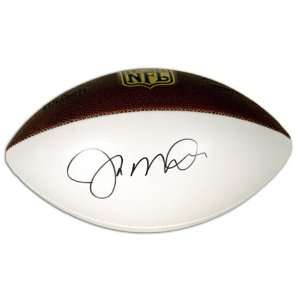 Joe Montana Autographed Football  Details White Panel Duke Football