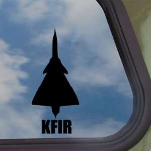 KFIR Black Decal Military Soldier Car Truck Window Sticker
