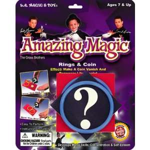 Amazing Magic RINGS & COIN MAGIC TRICK Easy to Perform