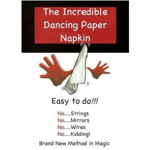 The Incredible Dancing Paper Napkin Toys & Games