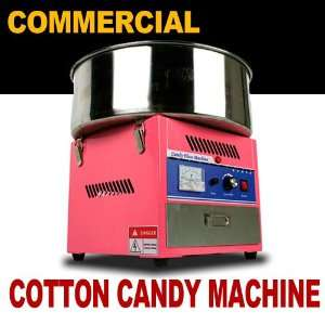 New MTN Commercial Electric Cotton Candy Machine Floss