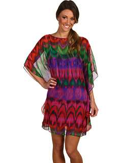 Trina Turk Anissa Chiffon Overlay Dress at
