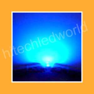 50pcs 3W STAR HIGH POWER BLUE LED LAMP PRO LIGHT 80LM