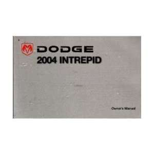 2004 DODGE INTREPID Owners Manual User Guide Everything