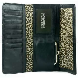 KENNETH COLE REACTION WOMENS CLUTCH WALLET TRI FOLD 077979031717