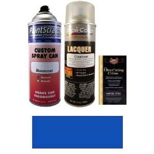 Blue Pearl Metallic Spray Can Paint Kit for 2012 Nissan Frontier (B17