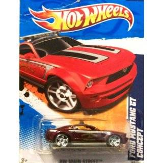 2011 Hot Wheels Ford Mustang GT Concept Grey #162/244 Toys & Games