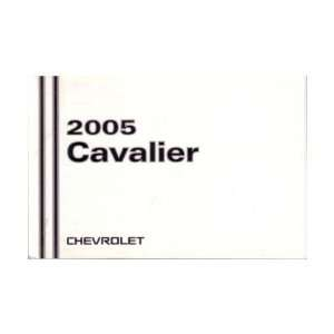 2005 CHEVROLET CAVALIER Owners Manual User Guide