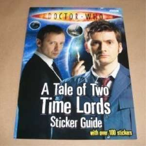 A Tale of Two Time Lords Sticker Guide (Doctor Who