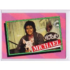 Michael Jackson 1984 Topps Trading Card #25 Sports