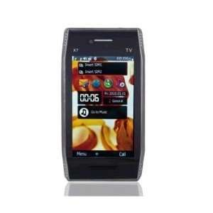 3.8 HVGA Touch Screen Quad band Dual Sim Dual Standby